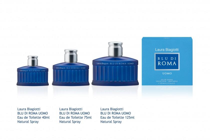 LB Blu Di Roma Uomo EDT Range